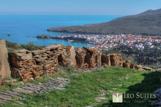 andros hiking iro suites routes