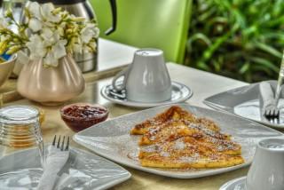 andros homemade breakfast iro suites