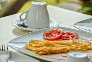 andros homemade breakfast iro suites eggs