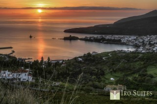 chora iro suites sunset