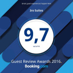 iro suites booking award